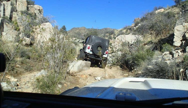 Arizona - Kingman - Moss Wash The Hard Way